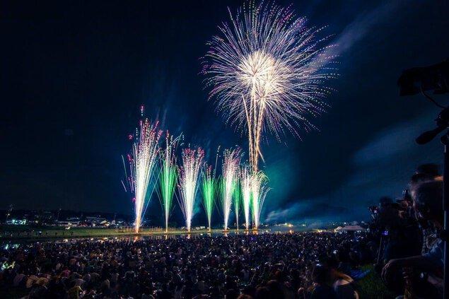 祝 令和元年 第11回関市民花火大会