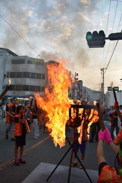 第35回かがり火市民祭り