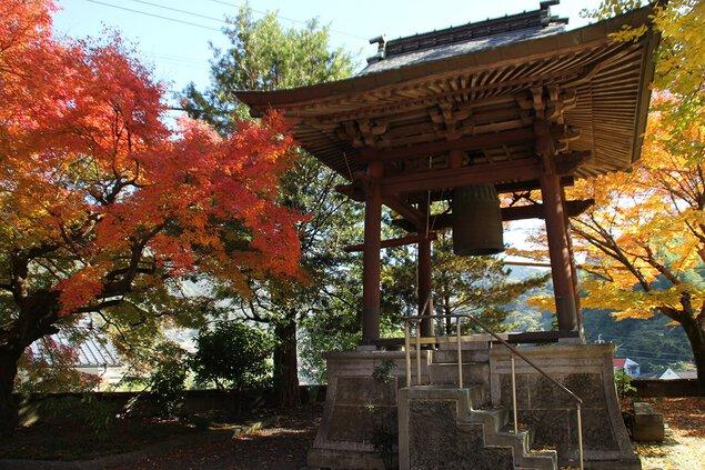 球磨川の紅葉