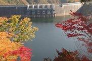 温井ダム周辺