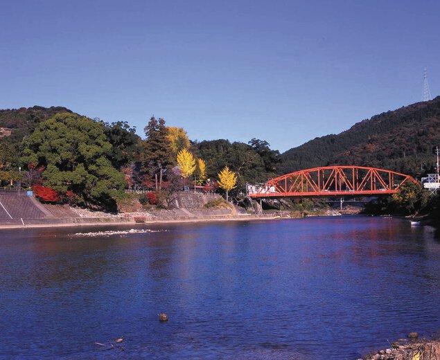 川上峡の紅葉