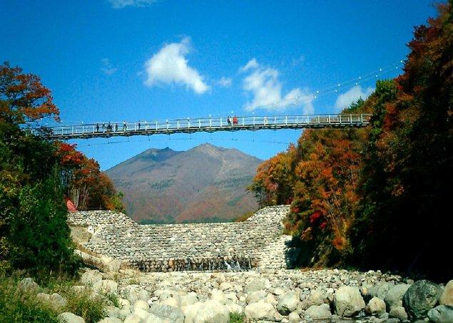 横川渓谷の紅葉