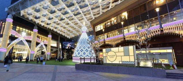 光を街へ。「KAGOSHIMA CENTRAL ARC」