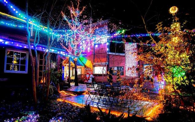 サンタヒルズのクリスマスイルミネーション