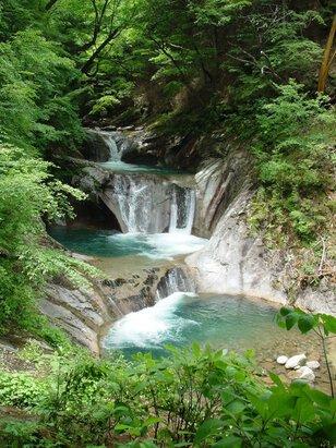 西沢渓谷山開き