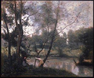 花ひらくフランス風景画 珠玉の名品 ミレー、コロー、シスレー、モネ