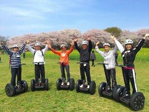 国営昭和記念公園 桜の名所を回るセグウェイガイドツアー