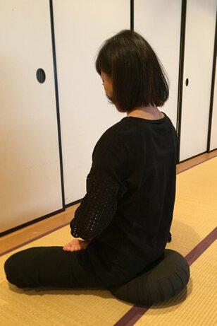 万松寺の仏教勉強会「坐禅体験」