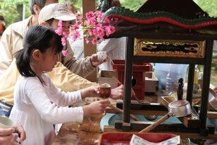 甘茶まつり(医王寺)
