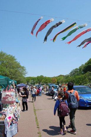 たんぽぽフリーマーケット(5月)