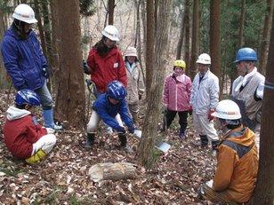 平成29年度 みちのく公園里山地区 森の楽校(4月)