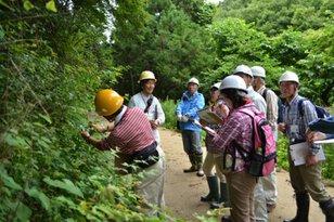 平成29年度 みちのく公園里山地区 森の観察会