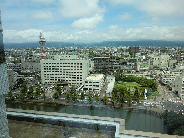 佐賀県庁(新館) 展望ホール