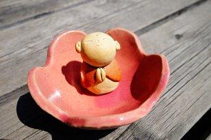 陶芸ワークショップ in ハッピーロード大山商店街「焼き物でお地蔵様と花の小鉢をつくろう!」