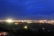 県営バンナ公園の夜景