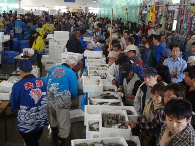 鼠ヶ関大漁旗フェスティバル