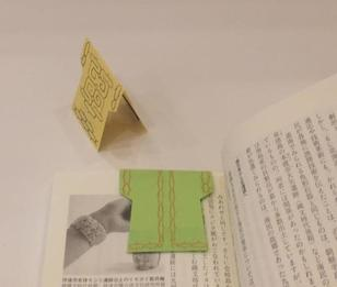 マグネットしおり作り(GW博物館体験)