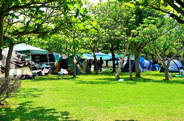 沖縄県総合運動公園オートキャンプ場