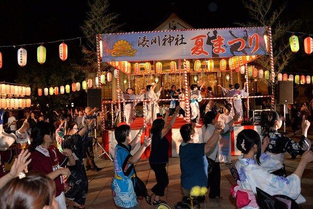 湊川神社夏まつり~献燈祭・菊水天神祭~