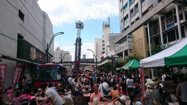 諫早駅前通り夏まつり