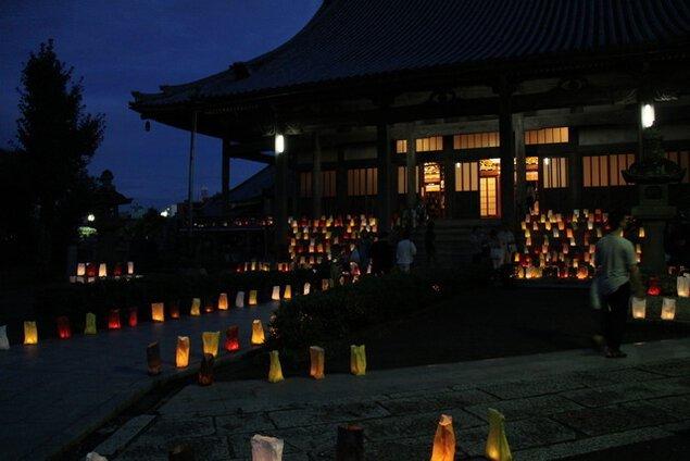 なかつ寺町とうろう祭