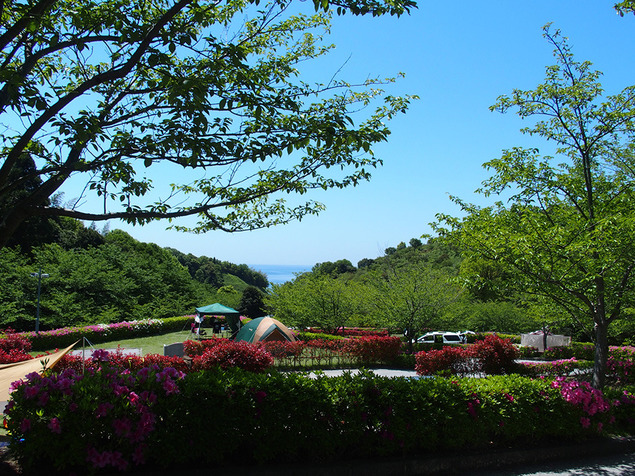 冠山総合公園オートキャンプ場