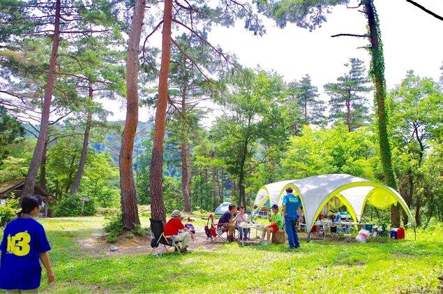 南砺市閑乗寺公園キャンプ場