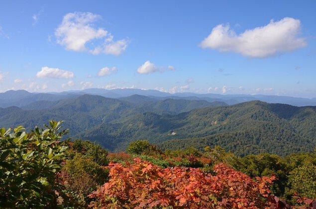 白神山地 駒ヶ岳の紅葉