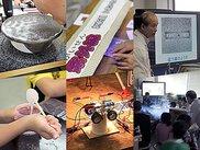 倉敷科学センター わくわく実験室「空気、どはくりょく実験」