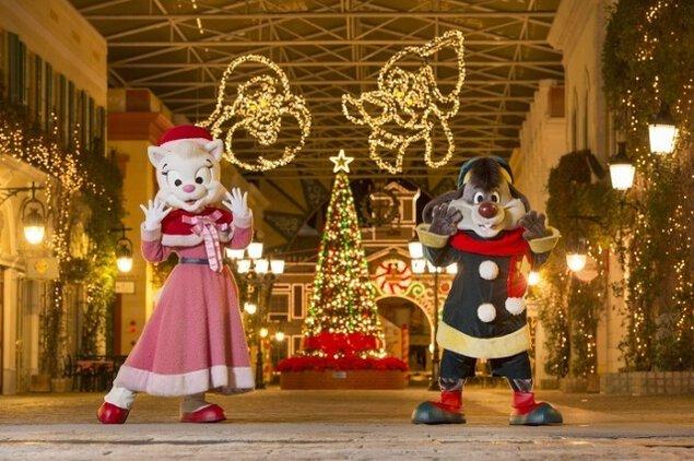 志摩スペイン村のクリスマス