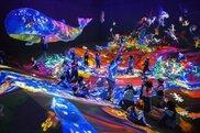 チームラボ☆踊る!アート展と、学ぶ!未来の遊園地