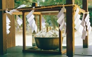 筑紫神社粥卜祭り