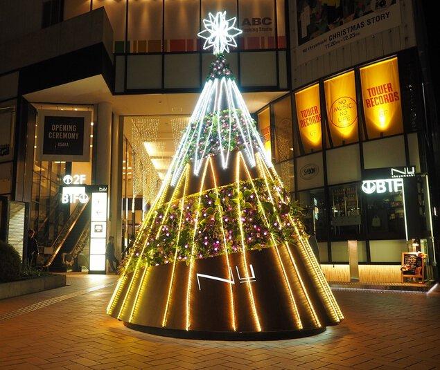 NU茶屋町/NU茶屋町プラスクリスマスイルミネーション