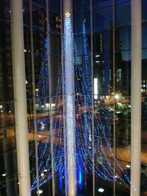 コラッセふくしまクリスマスイルミネーション2018