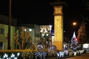 JR武生駅前、市役所前中央分離帯、まちなかの商店街、蔵の辻