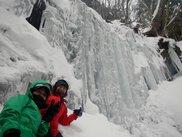 大峰アイスガーデン氷瀑トレッキング