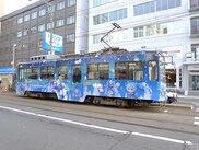 雪ミク電車2018運行