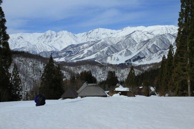 冬の秘境集落「真木」を訪ねる