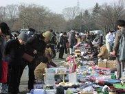 川越水上公園フリーマーケット(3月)