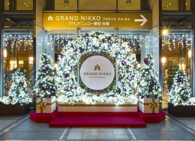 グランドニッコー東京 台場 クリスマスイルミネーション2017