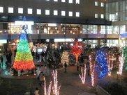 JR長岡京駅西口とバンビオ一帯