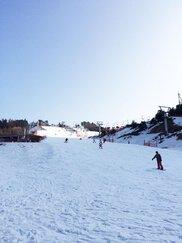 井川スキー場腕山オープン