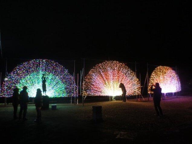 諏訪湖イルミネーション2017-2018