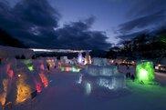 2018 千歳・支笏湖氷濤まつり・支笏湖 青の祭