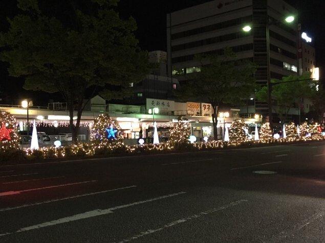 JR和歌山駅周辺イルミネーション