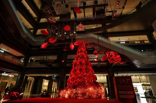 「GRAND WISH CHRISTMAS 2017」WINTER IN RED