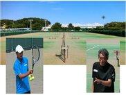 本牧市民公園 平成29年度冬期テニス教室