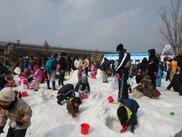 モリコロパーク雪まつり 雪の遊園地inモリコロパーク