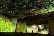 大谷洞窟地底美術館デジタル掛け軸