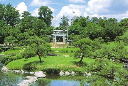 出水神社・水前寺成趣園